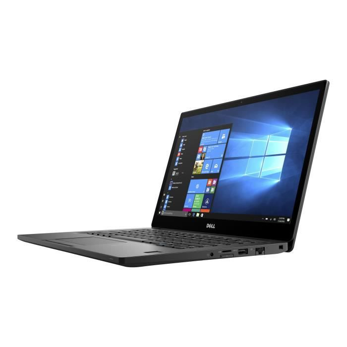 Dell Latitude 7280 Ultrabook Core i5 7300U - 2.6 GHz Win 10 Pro 64 bits 8 Go RAM 256 Go SSD 12.5- 1920 x 1080 (Full HD) HD…