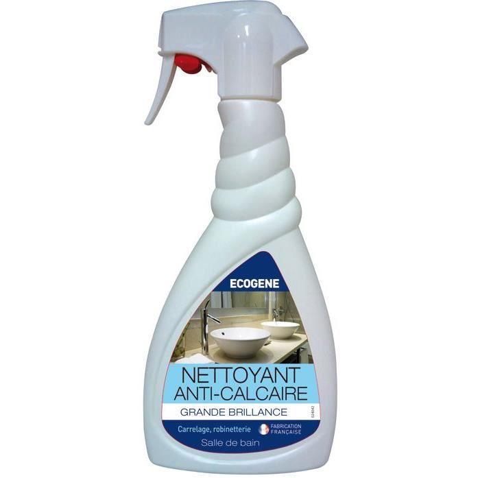 Nettoyant anti-calcaire pour salle de bains - 500 mL