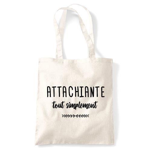 Tote bag - Coton - Creme Naturel GS ATTACHIANTE TOUT SIMPLEMENT