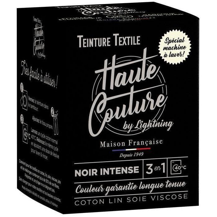 Teinture textile haute couture noir intense 350g