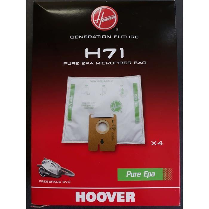 SAC EN TISSU POUR ASPIRATEUR HOOVER H71,35601069,FREESPACE