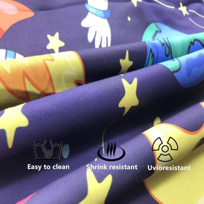 YUNDING Série de voitures pour enfants Parure de Couette  Imprimée 1 Housse de Couette 150 X 200 CM + 2 taies d'oreiller 48 X 47 CM