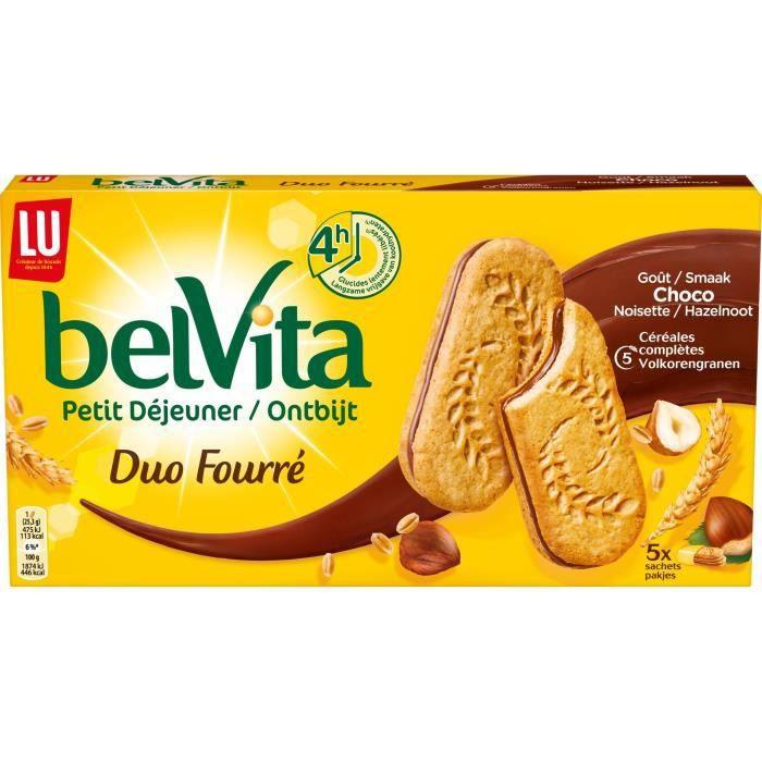 LU Belvita Coeur fondant Chocolat Noisette 253g