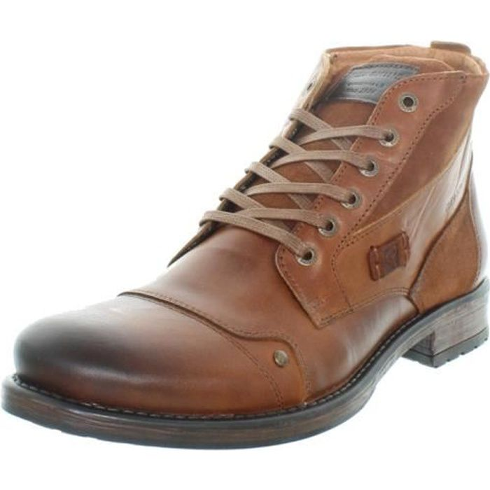 Boots Redskins Yvori ref_cle41751 cognac