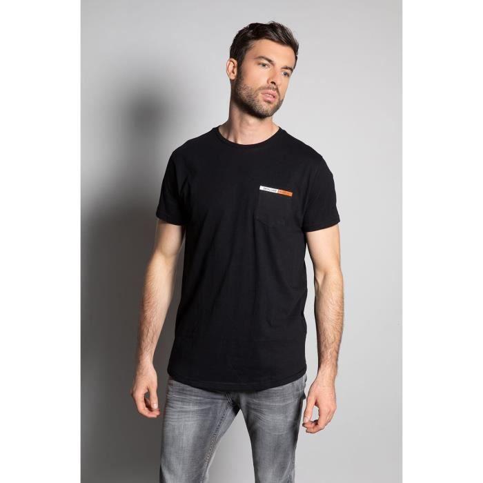 DEELUXE T-shirt logoté au dos JETSON Black