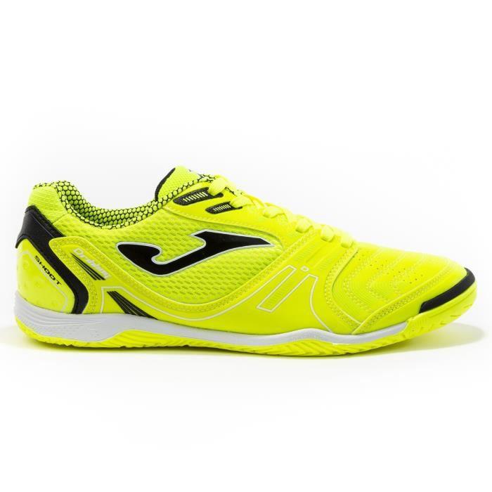 Chaussures de football Joma Dribling Indoor 2011 - vert fluo/noir - 42