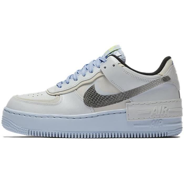 Basket Air Force 1 Shadow Air Force One AF 1 Low Chaussures de Running Femme CV3027-1001