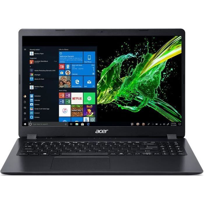 Acer pc portable aspire 3 a315 42 156 fhd amd ryzen 3 3200u ram 4go stockage 128go ssd radeon vega 3 graphics win 10