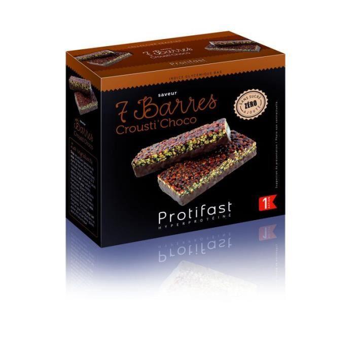 Protifast Barre Crousti Choco Boite de 7