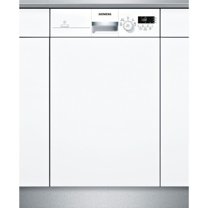BOSCH SR515W03CE lave-vaisselle intégrable - 9 couverts - 46 dB - Classe A+ - largeur 45 cm