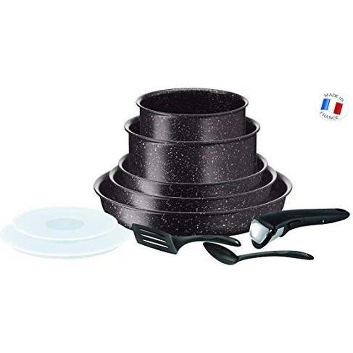 Ingenio Extreme Set De 10 Pièces Effet Pierre Marron Tous Feux Dont Induction L6789302