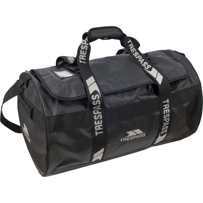 TRESPASS Sac waterproof Bleckfriar - 60 L - Noir