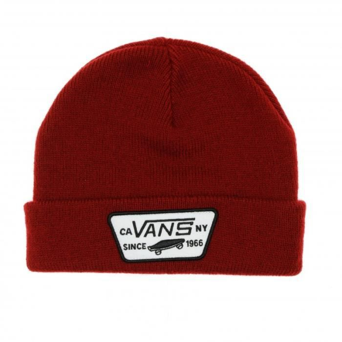 Bonnet Rouge Adulte Vans By Milford Beanie