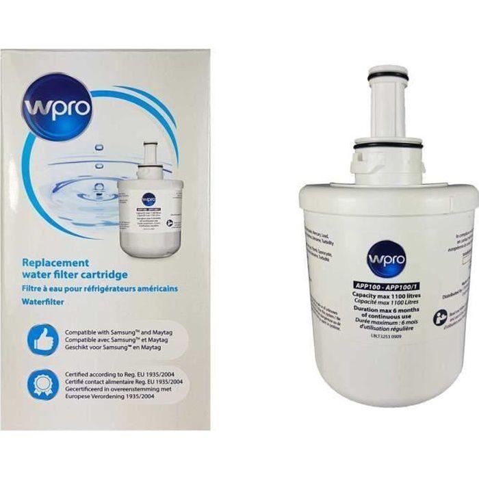 WPRO APP100/1 Filtre à eau interne Samsung