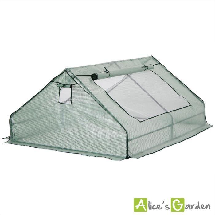 Mini serre de jardin de 2,5m², bâche armée en polyéthylène ...