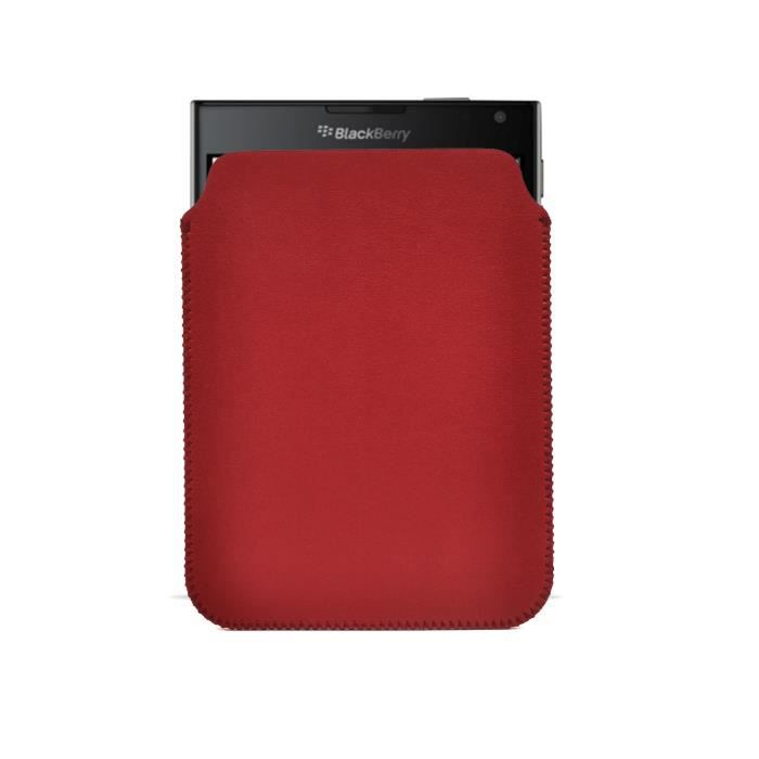 Ultrajacket housse blackberry passport rouge achat for Housse blackberry