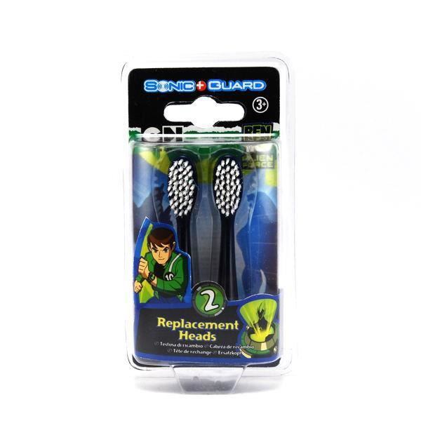 brosse a dents ben10 alien force recharge par 2 achat. Black Bedroom Furniture Sets. Home Design Ideas