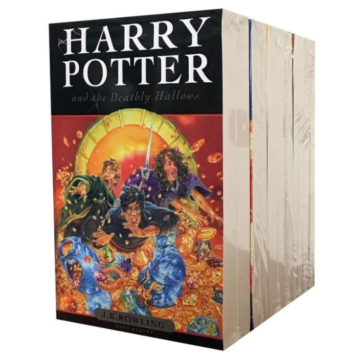 Harry Potter Version Anglaise Complete Serie De 8 Livres