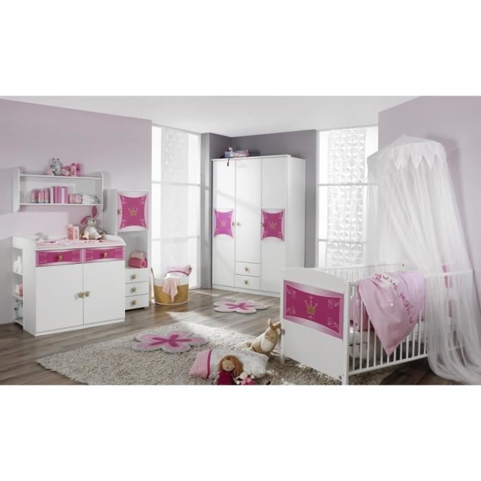 chambre bebe fille complete id es de d coration et de mobilier pour la conception de la maison. Black Bedroom Furniture Sets. Home Design Ideas