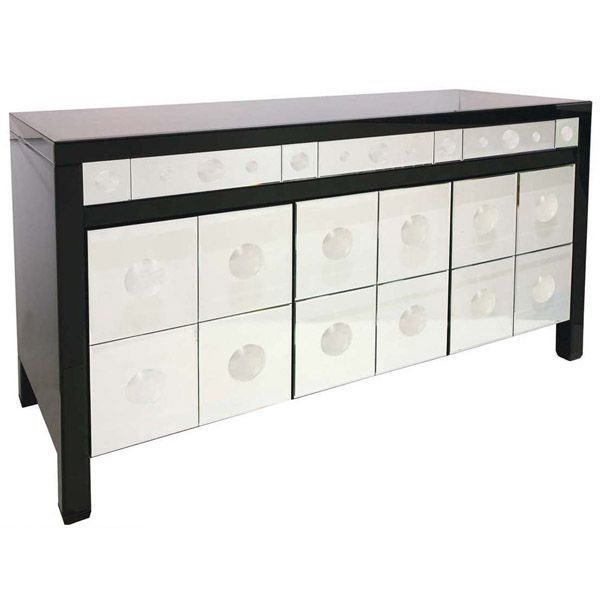 buffet miroir 3 portes 3 tiroirs prestige achat. Black Bedroom Furniture Sets. Home Design Ideas