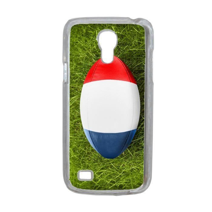 coque rugby drapeau france compatible samsung galaxy s4 mini transparent achat coque bumper. Black Bedroom Furniture Sets. Home Design Ideas