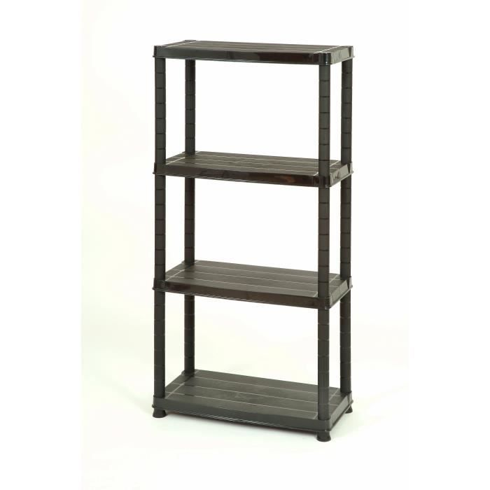 etagere pas chere etagre en mtal avec rangement carr x. Black Bedroom Furniture Sets. Home Design Ideas