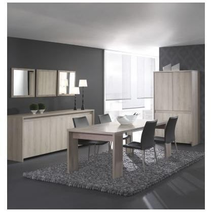 salle manger contemporaine compl te boreale achat vente salle manger salle manger. Black Bedroom Furniture Sets. Home Design Ideas