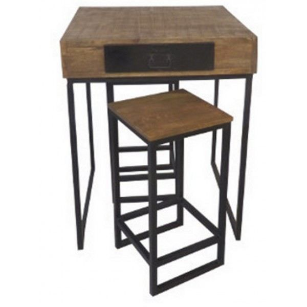 Table bar et tabourets achat vente tabouret de bar for Achat table bar