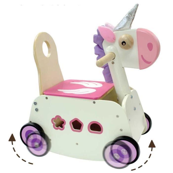 Porteur - Pousseur - I M TOY - Chariot marche