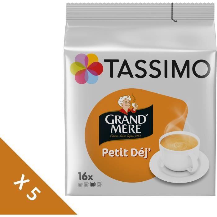 CAFÉ Tassimo Grand-mère Petit Dej café en dosettes - lo