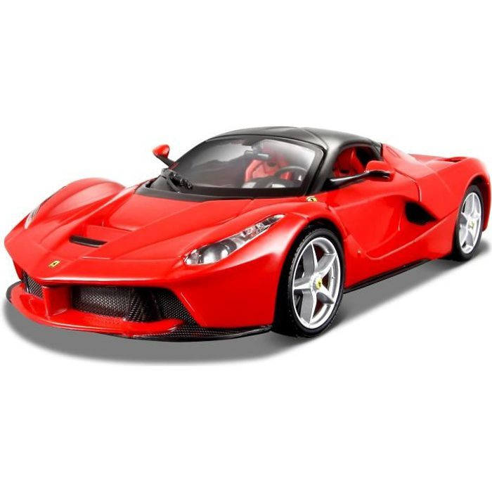 burago voiture ferrari collection la ferrari chelle 1 24 achat vente voiture camion. Black Bedroom Furniture Sets. Home Design Ideas