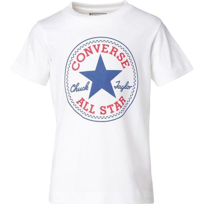converse tee shirt rouge
