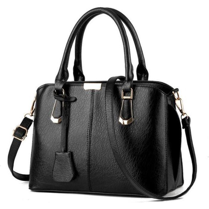 100% de satisfaction meilleure qualité capture Sac à main cuir sac à main femme sac à main De Luxe Femmes Sacs Designer  Sacs Sacs À Main Femmes Célèbres Marques noir Haut quali…