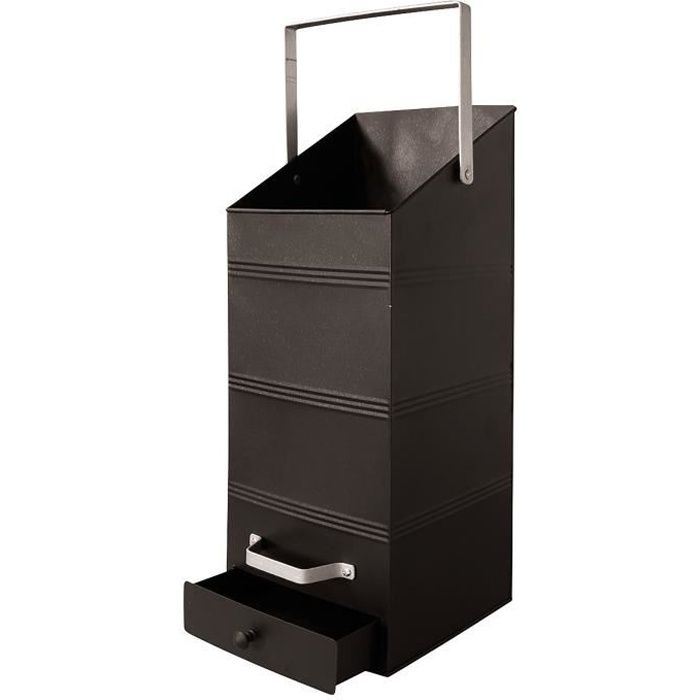 delta seau pellets rectangulaire avec r cup rateur 18 l. Black Bedroom Furniture Sets. Home Design Ideas