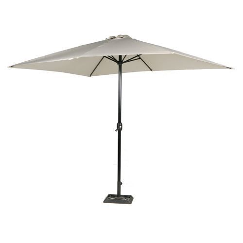 parasol de jardin rectangulaire aluminium 2 achat vente parasol ombrage parasol de. Black Bedroom Furniture Sets. Home Design Ideas