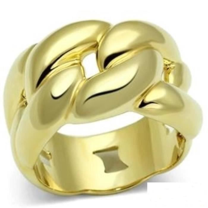 bague or femme sans pierre