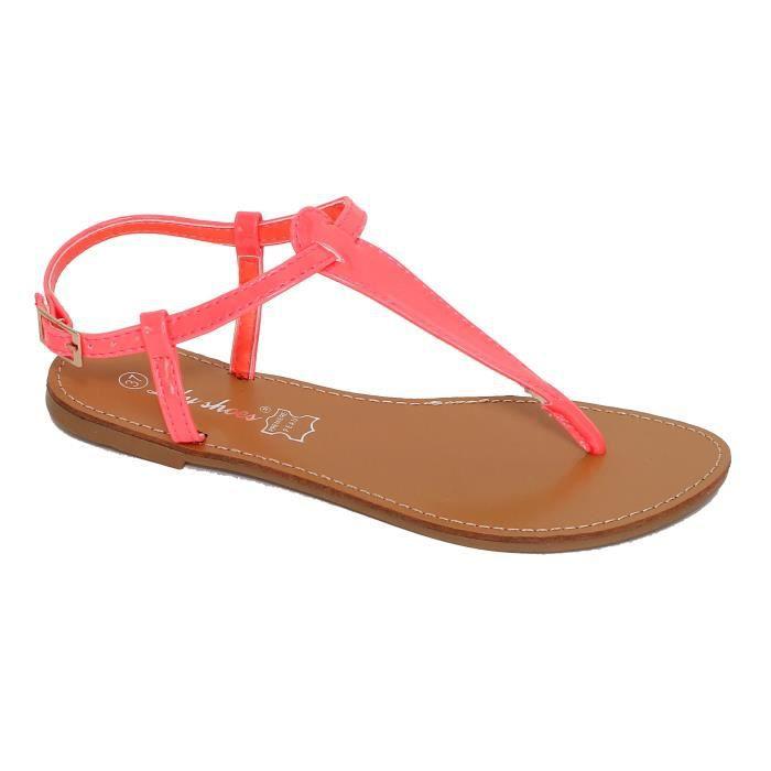 femme sandale Achat fuch Vente Fuchsia plates Sandales I2W9EDH