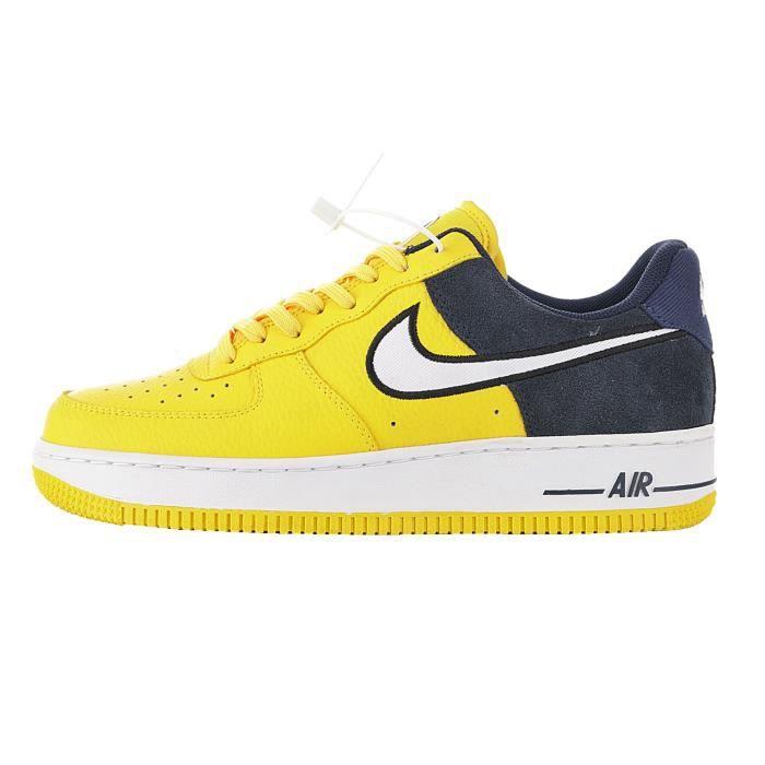 chaussure nike femme jaune