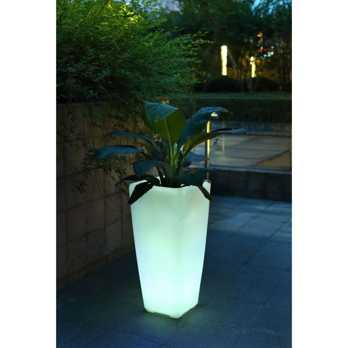 Luminaria pot lumineux led 70cm achat vente luminaria pot lumineux 70cm pe black friday le for Pots lumineux leroy merlin