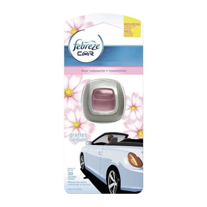 febreze diffuseur voiture fleur naissante 2ml achat vente d sodorisant auto febreze dif. Black Bedroom Furniture Sets. Home Design Ideas