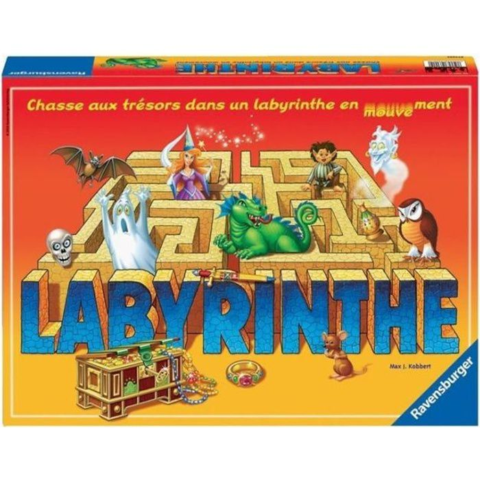 ravensburger labyrinthe achat vente jeu soci t plateau cdiscount. Black Bedroom Furniture Sets. Home Design Ideas