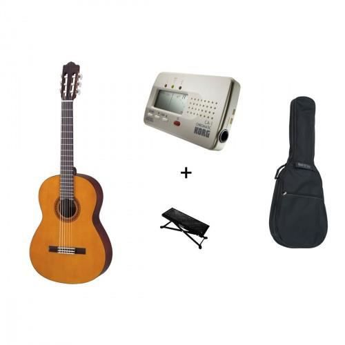 pack yamaha c40 guitare classique housse repose pied. Black Bedroom Furniture Sets. Home Design Ideas