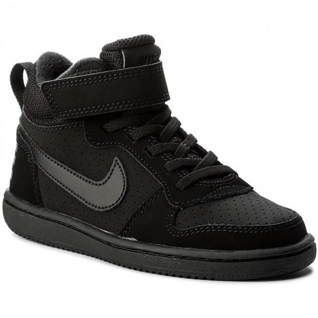 NIKE Baskets Court Bourough Mid Chaussures Enfant