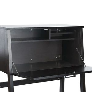 bureau secretaire bois achat vente bureau secretaire bois pas cher cdiscount. Black Bedroom Furniture Sets. Home Design Ideas
