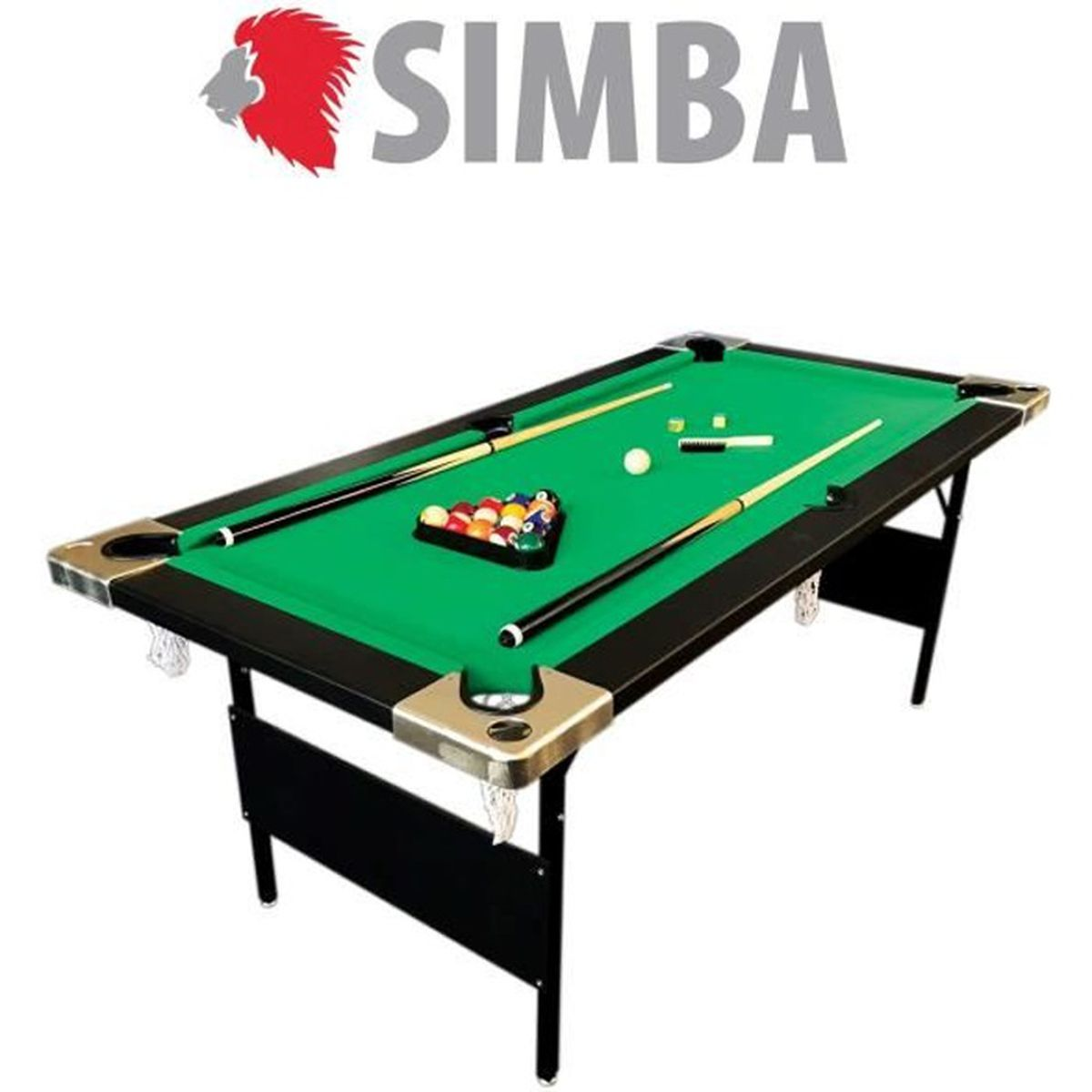 table de billard pliable achat vente jeux et jouets pas chers. Black Bedroom Furniture Sets. Home Design Ideas