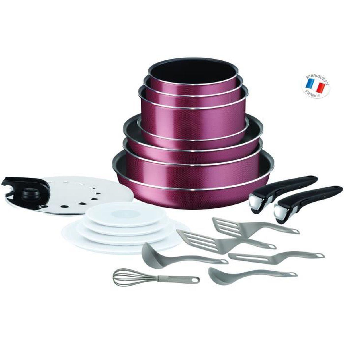 Tefal Ingenio Essential Batterie De Cuisine 20 Pieces L2289002 16