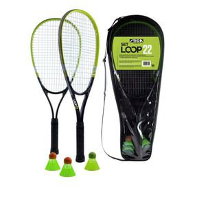 KIT BADMINTON STIGA Set de speed badminton Loop 22 - Noir et ver