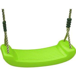 AGRÈS DE BALANÇOIRE Balançoire plastique - verte - pour portique 1,90