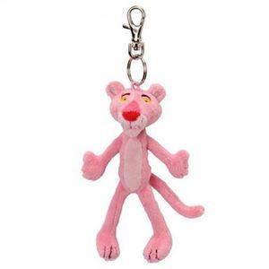 PELUCHE Porte clés peluche Panthere rose 12 cm