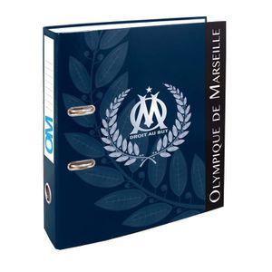 OLYMPIQUE DE MARSEILLE Classeur /à Levier Om Collection Officielle